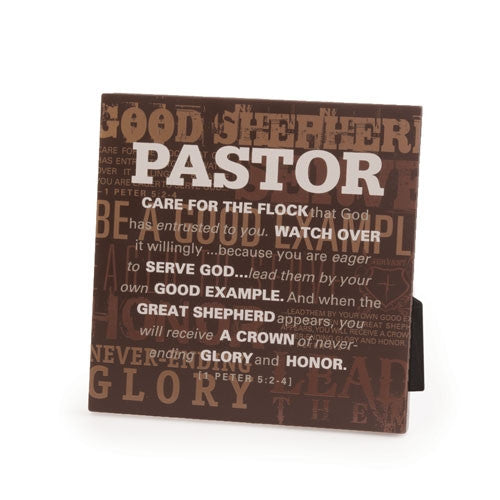 Pastor Appreciation - plaque