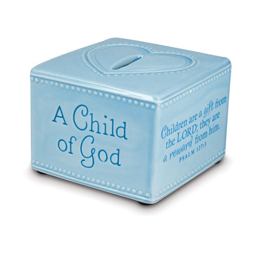 A Child of God - bank - blue
