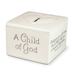 A Child of God - bank - cream