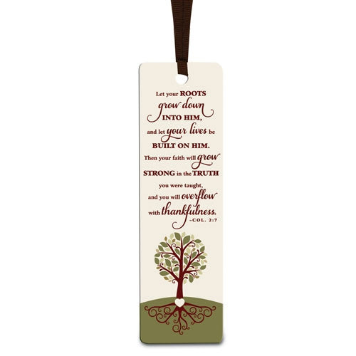 Let Your Roots Grow - bookmark
