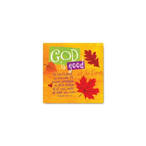 Color Block Series - God is Good magnet