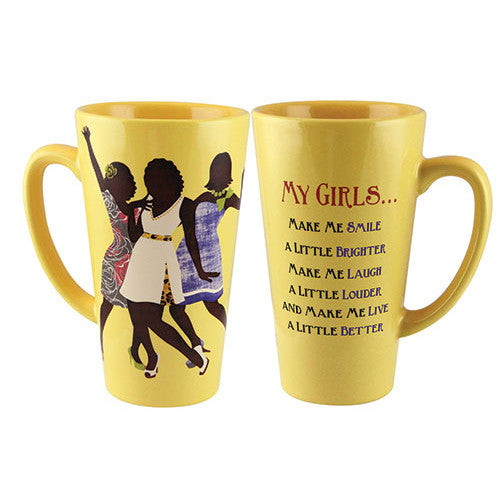 My Girls - latte mug