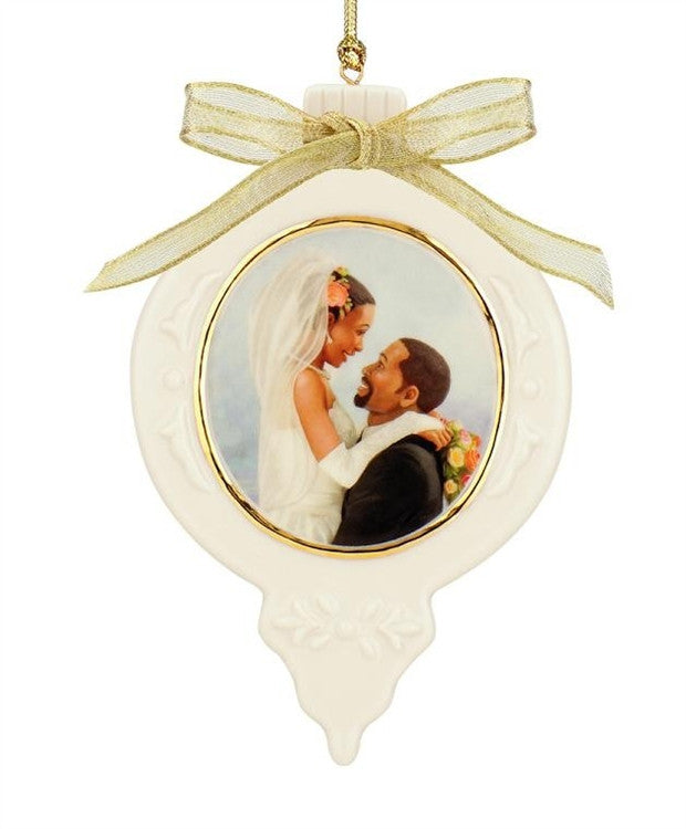 Forever One - Ebony Visions - porcelain ornament