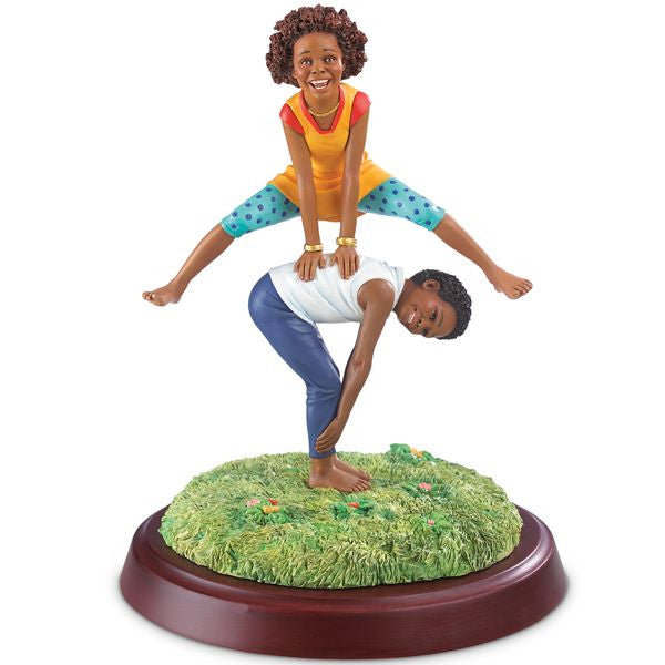 Ebony Visions - Leap Frog - figurine