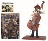 The Bassist - John Holyfield - Ebony Visions - figurine