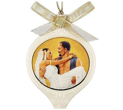 Ebony Visions - Love of a Lifetime - porcelain ornament