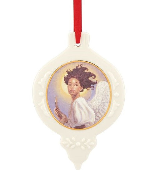 Ebony Visions - Preparing to Sound the Alarm - porcelain ornament