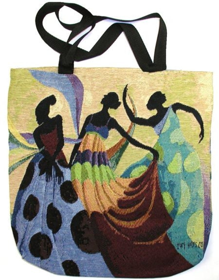 Dancers In Black Skin - Ivey Hayes - tote bag