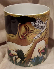 Celebrating Life mug - by LaShun Beal