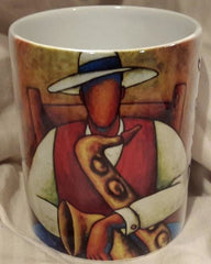 After The Set II mug - by LaShun Beal