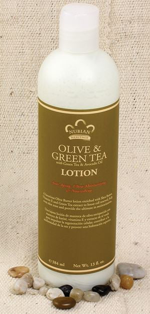 Olive and Green Tea with Avocado - Lotion