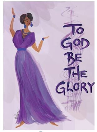 To God Be The Glory - Cidne Wallace - magnet2