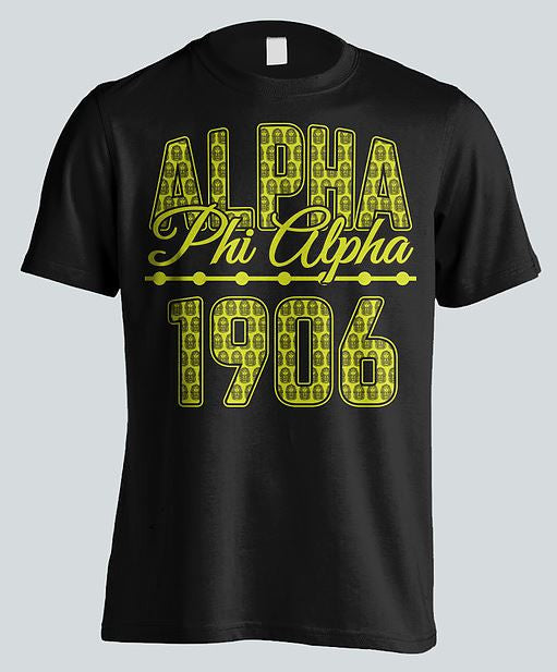 Alpha Phi Alpha t-shirt - stacked