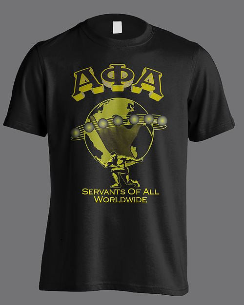 Alpha Phi Alpha t-shirt - worldwide