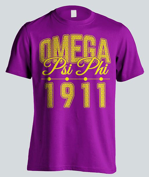 Omega Psi Phi t-shirt - stacked