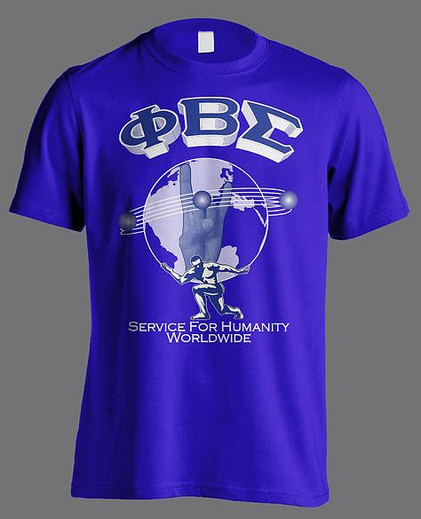 Phi Beta Sigma t-shirt - worldwide