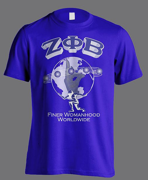 Zeta Phi Beta t-shirt - worldwide