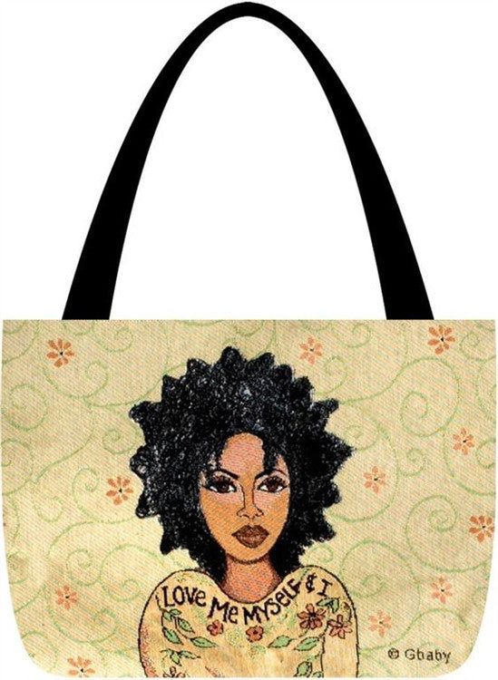 Love Me Myself - Gbaby Designs - totebag