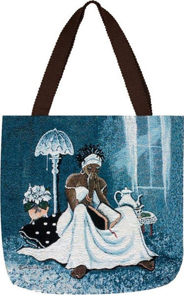My Cup Runneth Over Annie Lee Tote Bag It S A Black