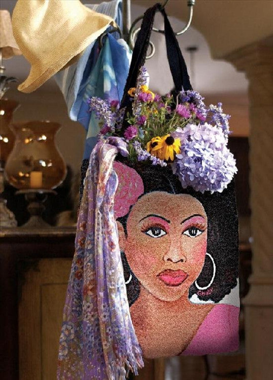 Pink Lady - Gbaby Designs - totebag