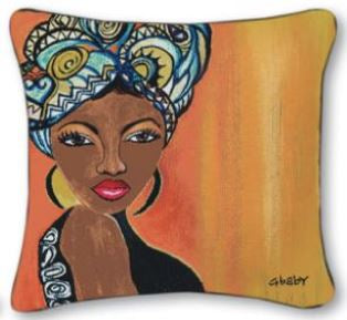 Moroccan Queen - throw pillow