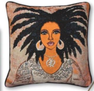 Talk To Me - throw pillow