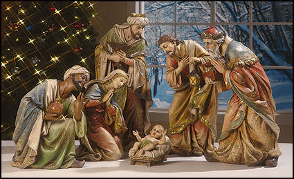 Traditional Nativity Scene Behold Your King It S A