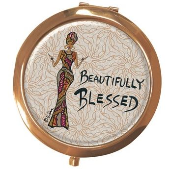 Beautifully Blessed - mirror compact