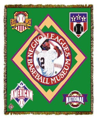 Negro League Baseball Museum - tapestry throw