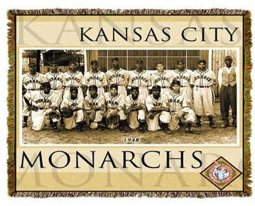 Negro League Baseball throw - Kansas City Monarchs