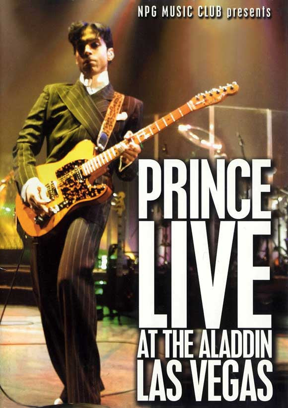 Prince - Live At The Aladdin Las Vegas - poster