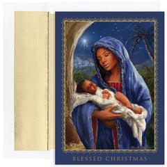 African American Christmas Cards - MPS-880500