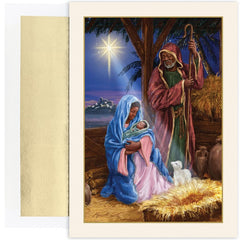 African American Christmas Cards - MPS-903800