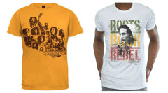 Bob Marley t-shirts - Collage-RootsRebel
