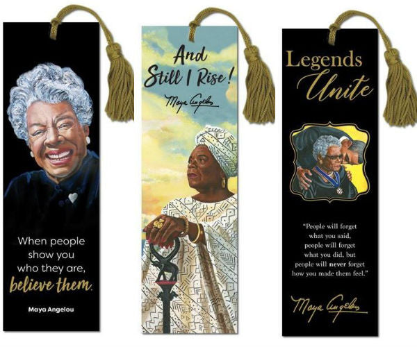 Maya Angelou - bookmarks - set of 3