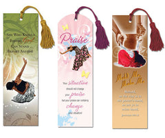 Mold Me - Praise - bookmarks - set of 3