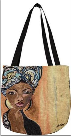 Moroccan Queen - Gbaby Designs - totebag