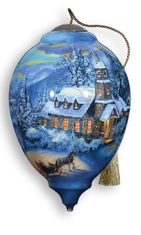 Sunday Evening Sleigh Ride - Neqwa ornament