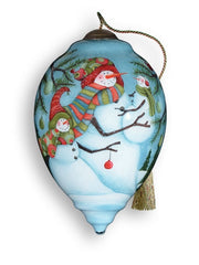 Snow Family - Neqwa ornament