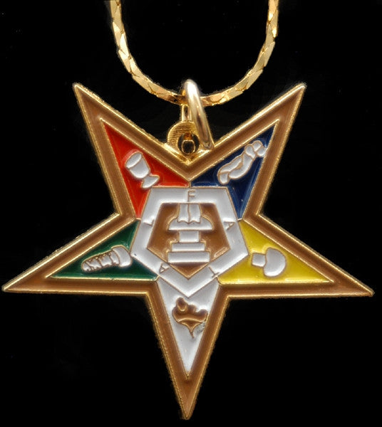 Eastern Star pendant - OES star