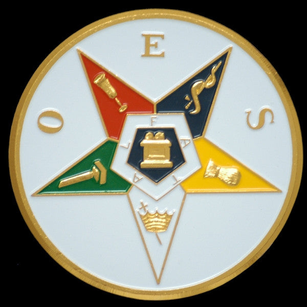 Eastern Star car emblem - OES star