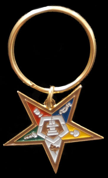 Eastern Star keychain - OES star