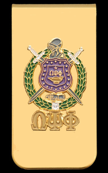 Omega Psi Phi money clip