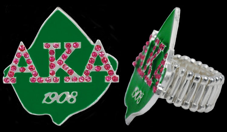 Alpha Kappa Alpha ring - stretchy
