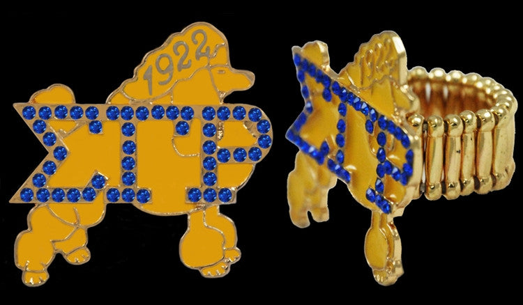 Sigma Gamma Rho ring - stretchy