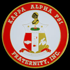 Kappa Alpha Psi -  round car emblem