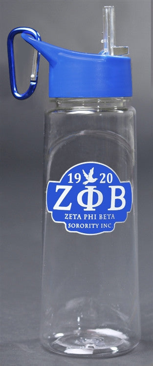 Zeta Phi Beta water bottle