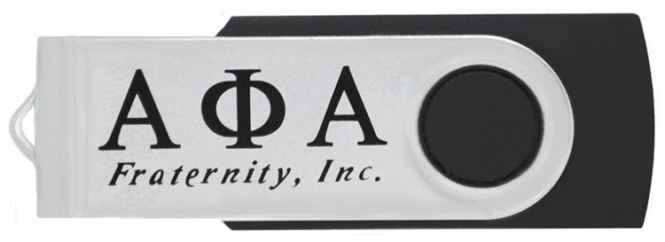 Alpha Phi Alpha flash drive - 4GB USB