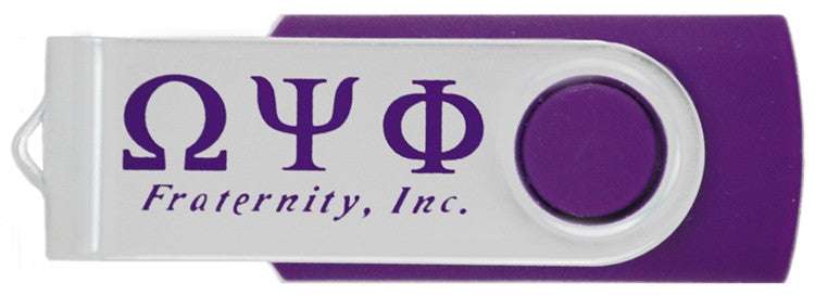 Omega Psi Phi flash drive - 4GB USB
