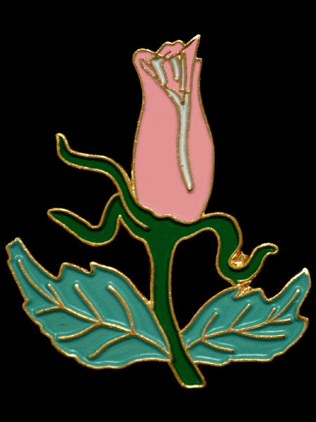 Alpha Kappa Alpha lapel pin - rose